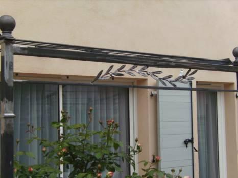 Pergola Bioclimatique En Fer Forge En 4x4 Aix En Provence Fer Du Sud